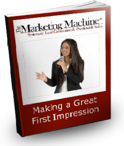 Making a Great First Impression